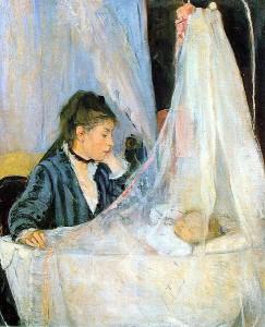 The Cradle (Kolébka), Berthe Morisot, 1872