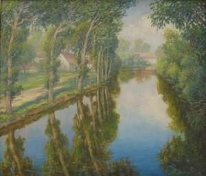 U řeky, Václav Radimský